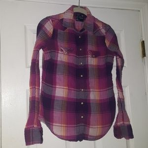 American Eagle Outfitters fall favorite  flannel
